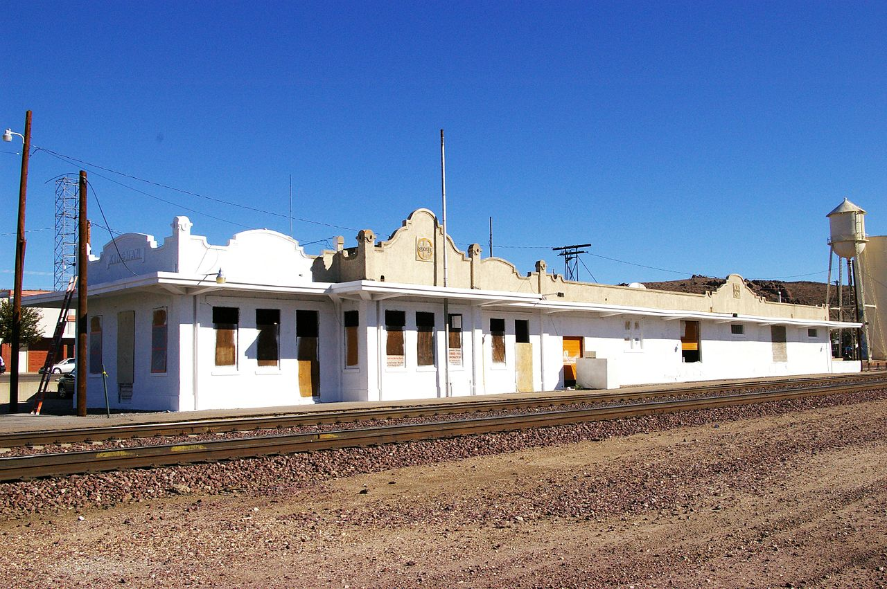 The Mission Revival-style train station in Kingman, Arizona. Picture courtesy of  Ron Reiring .