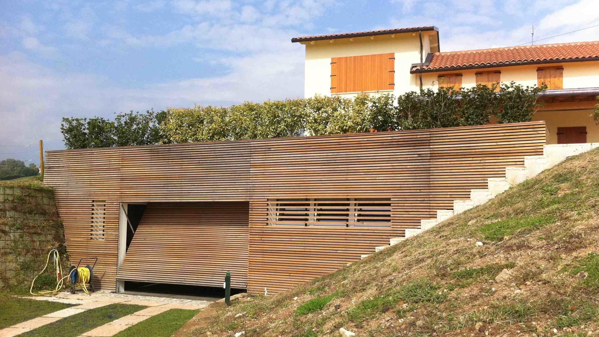 Esempio di realizzazione moderna a cura dello studio CIVICO 24 PROGETTI di Schio (Vicenza)