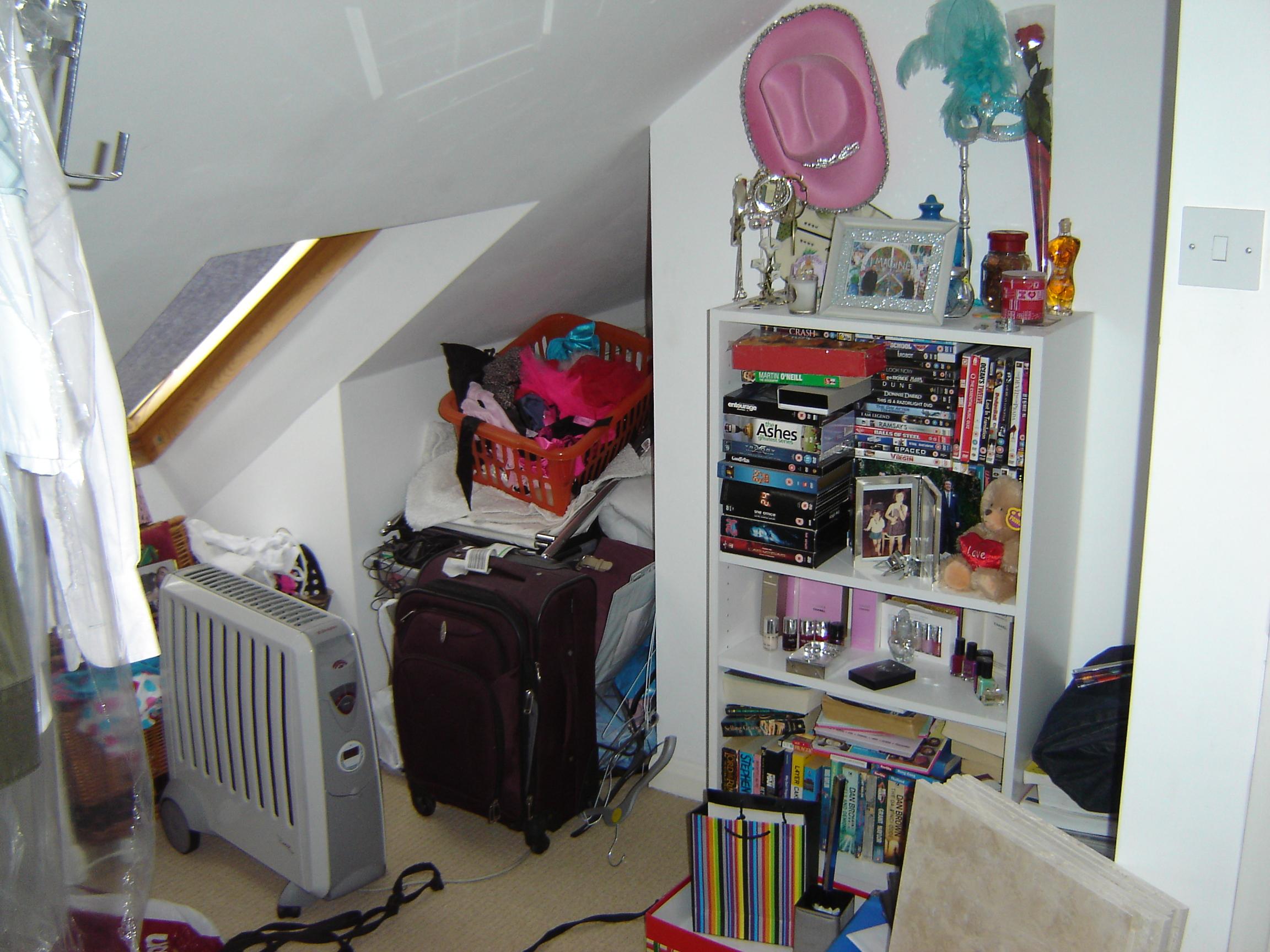 Crammed corner