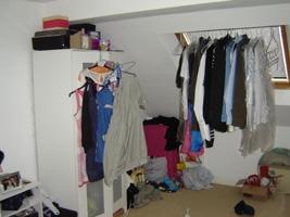 Stand-alone wardrobe