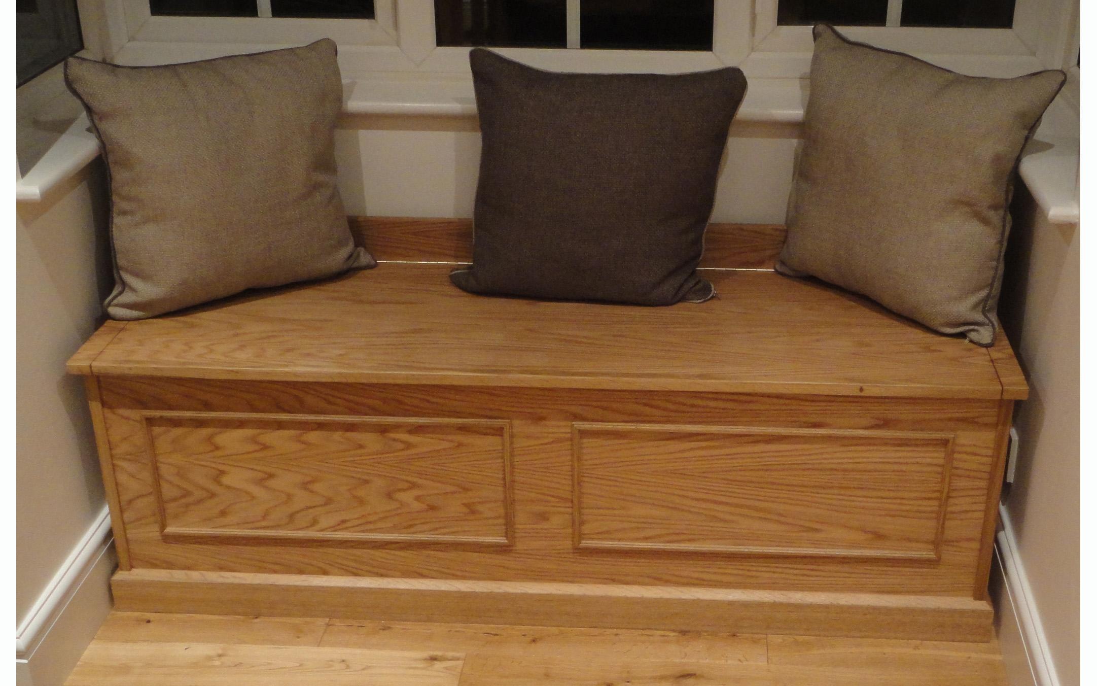 Oak Window Seat/Chest