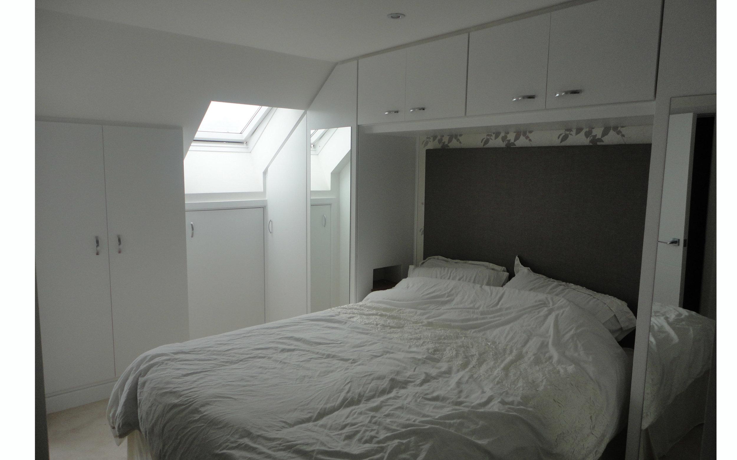 Loft Mirrored Wardrobe