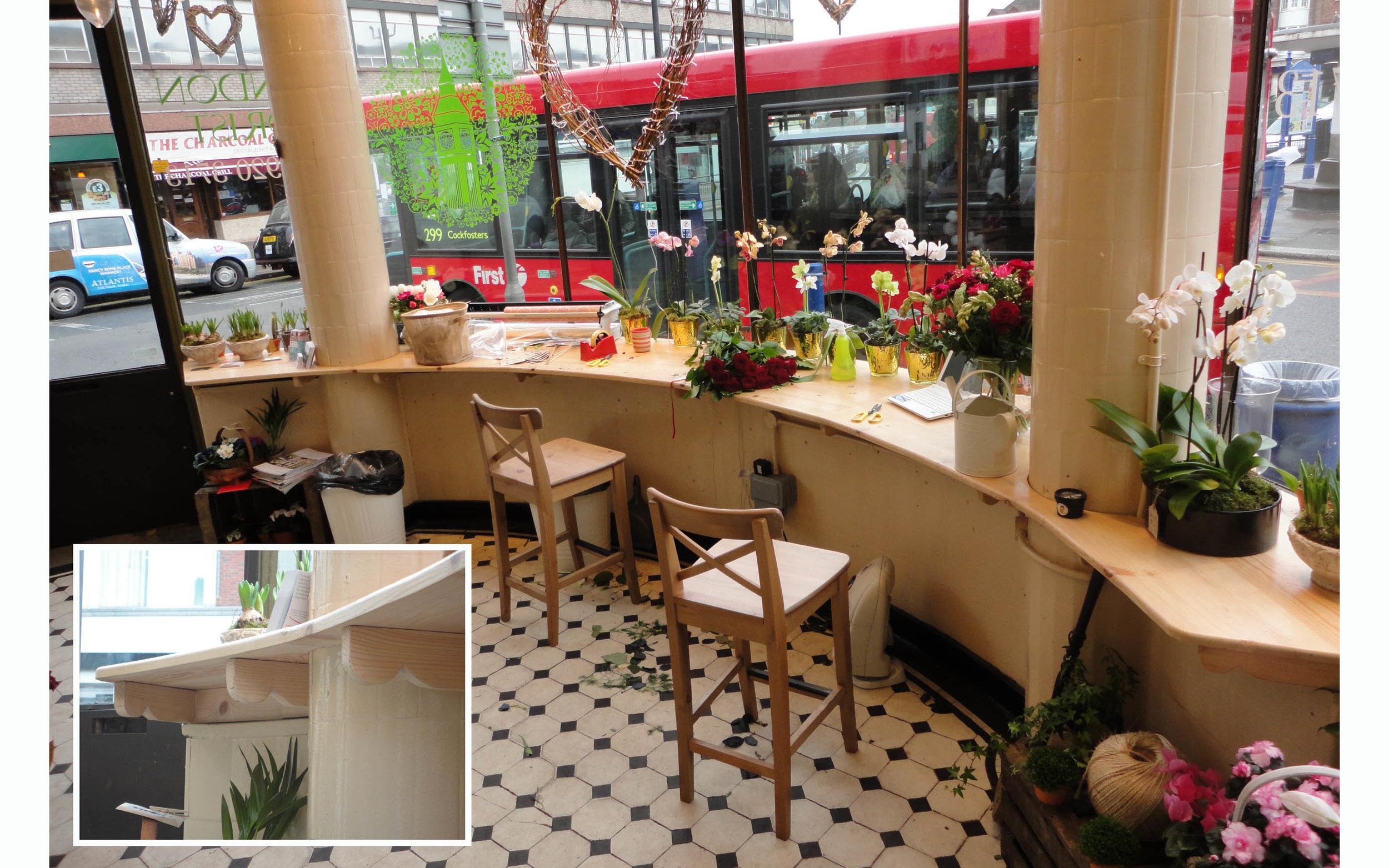 Florist Shop Counter