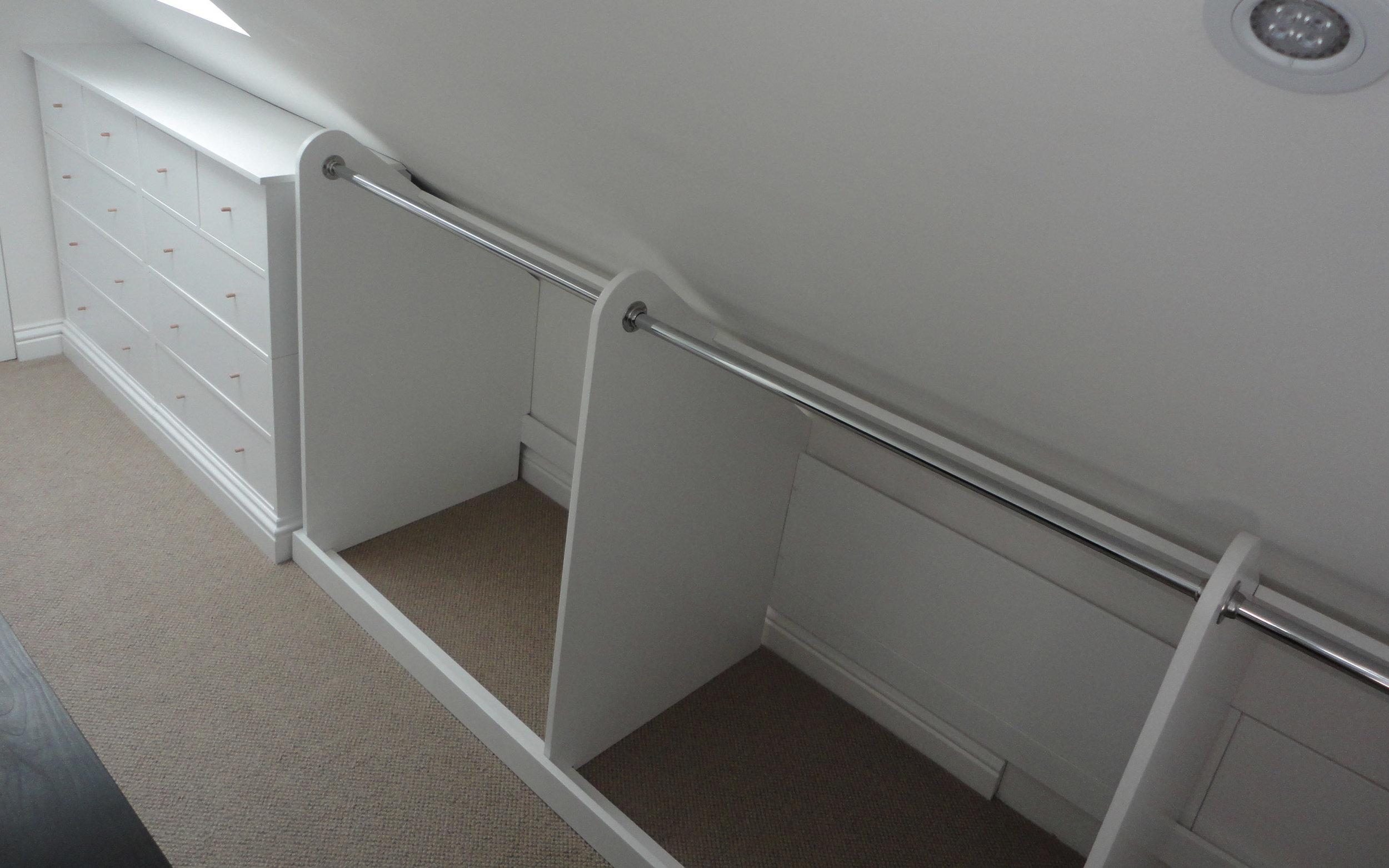 Loft Drawers and Rails