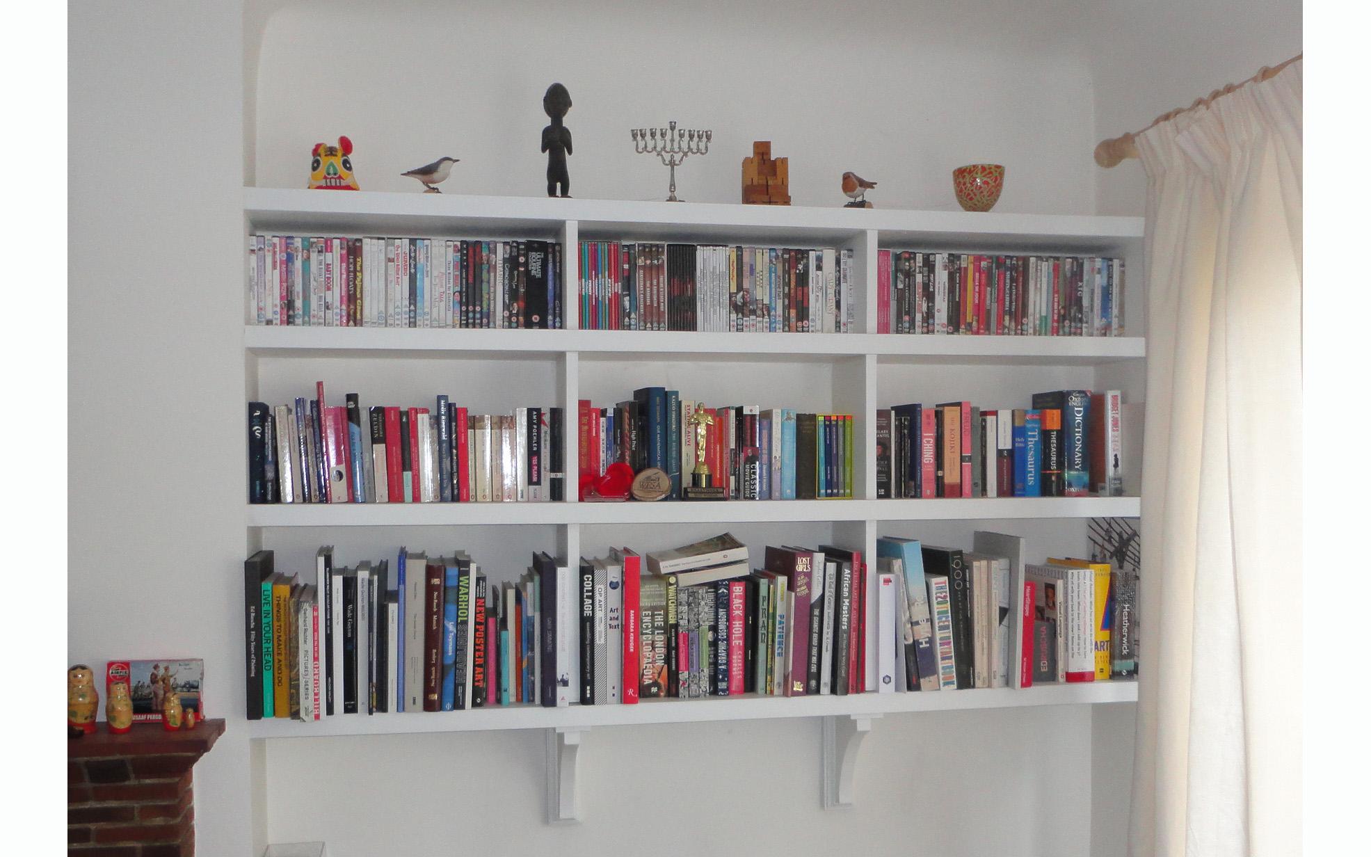 Alcove Bookshelves