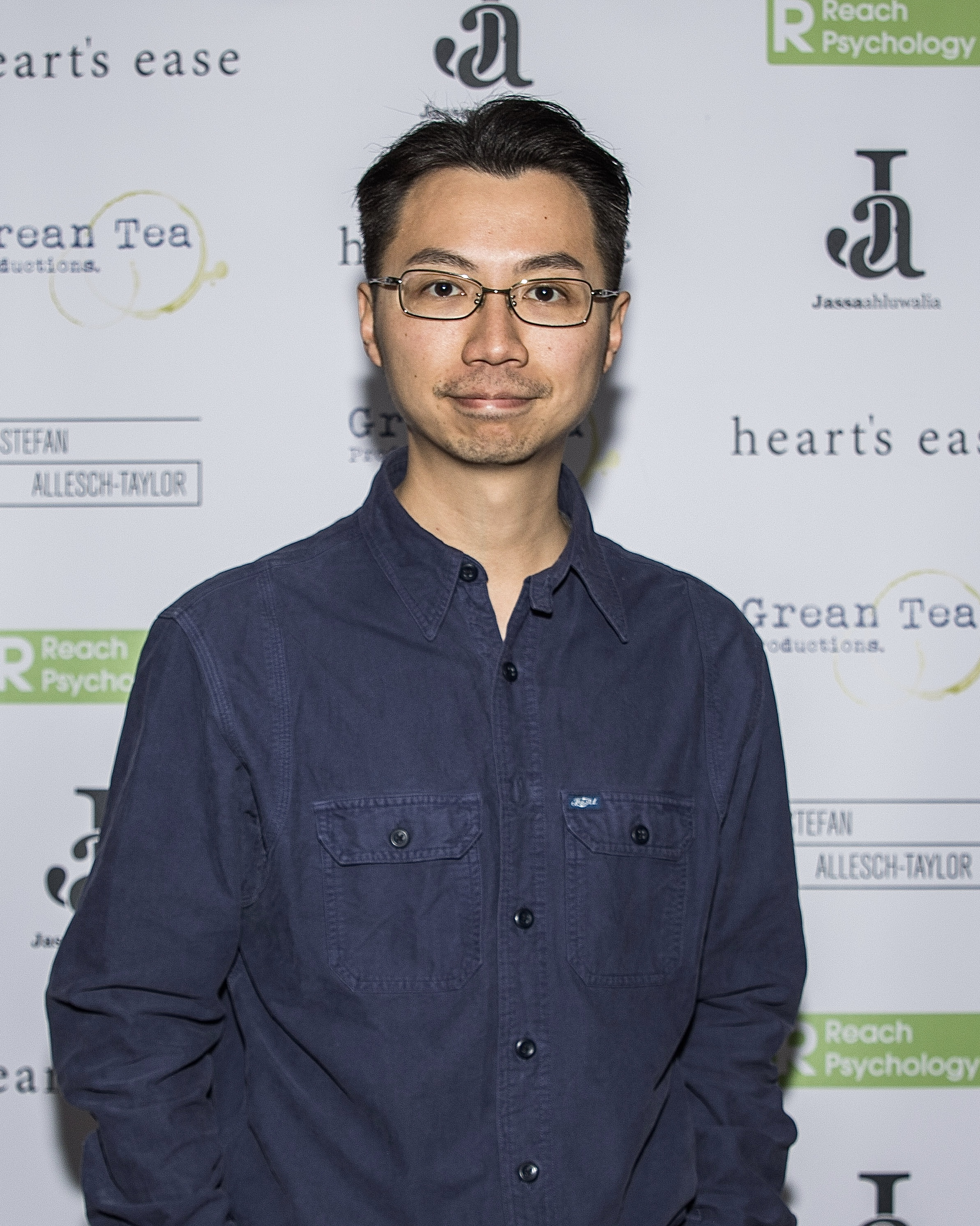 Christopher CF Chow attends the cast and crew screening of Heart's Ease.
