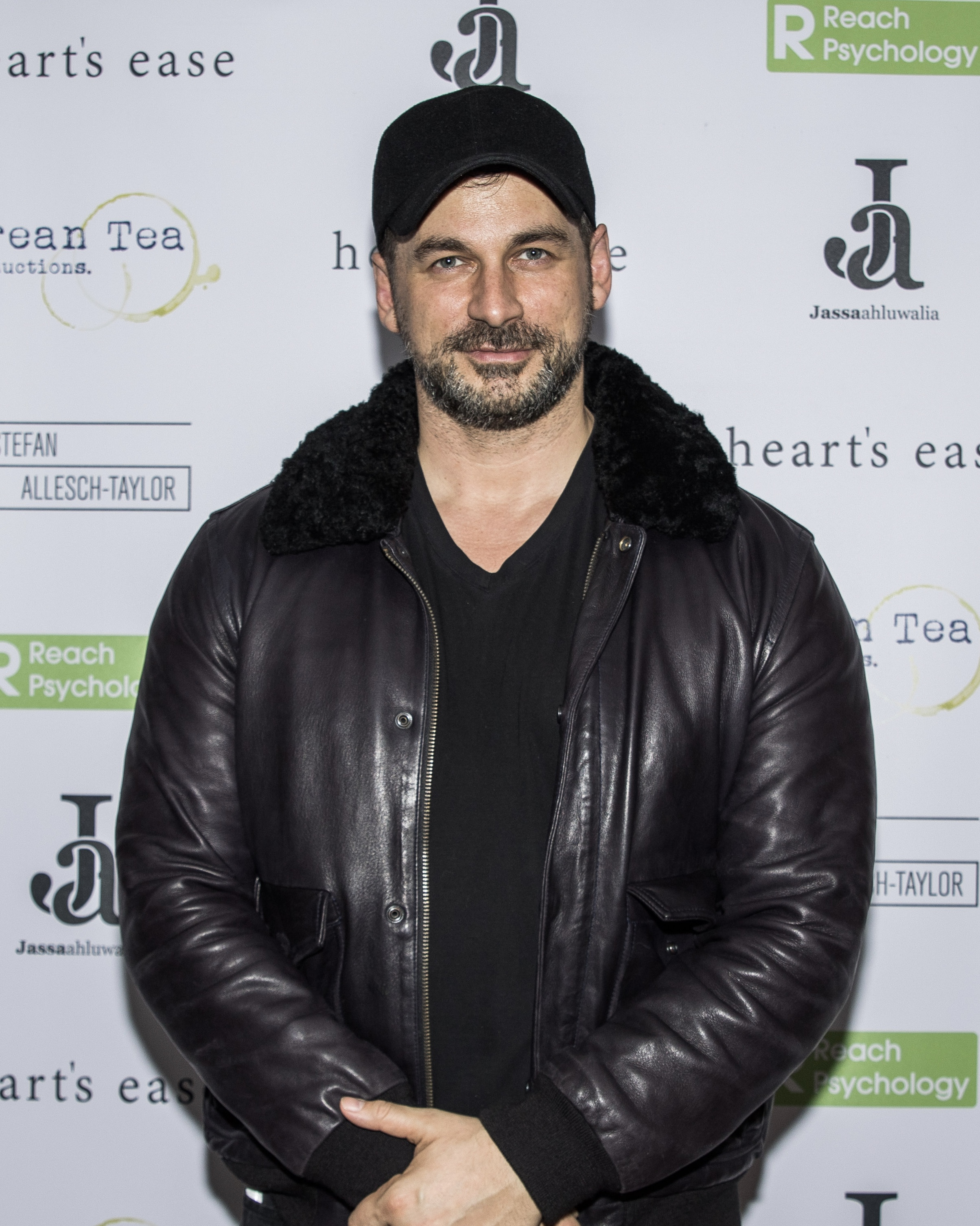 Cristian Solimeno attends the cast and crew screening of Heart's Ease.