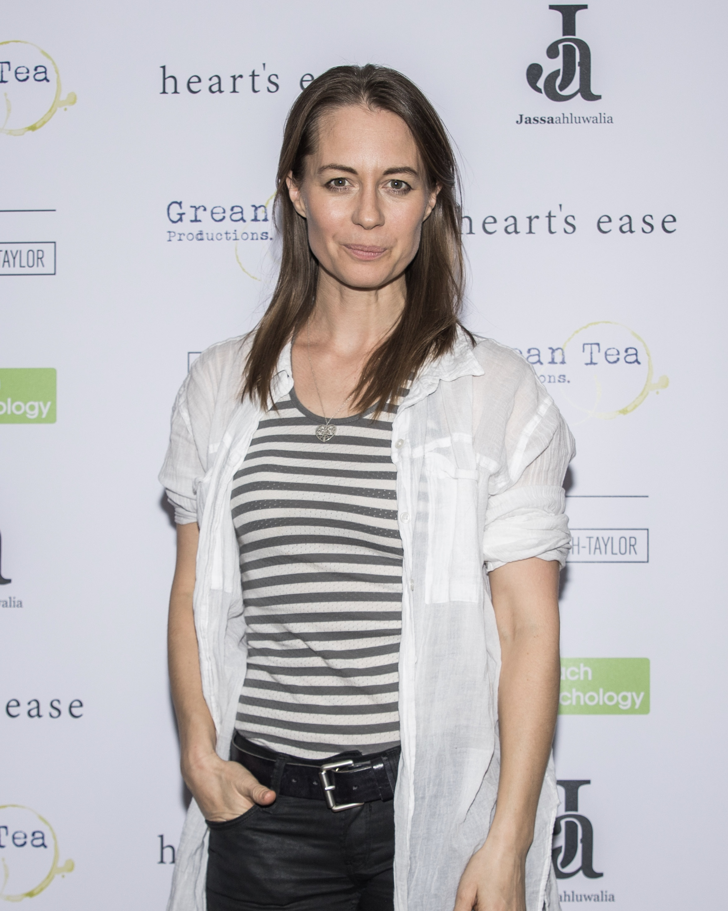 Kezia Burrows attends the cast and crew screening of Heart's Ease.