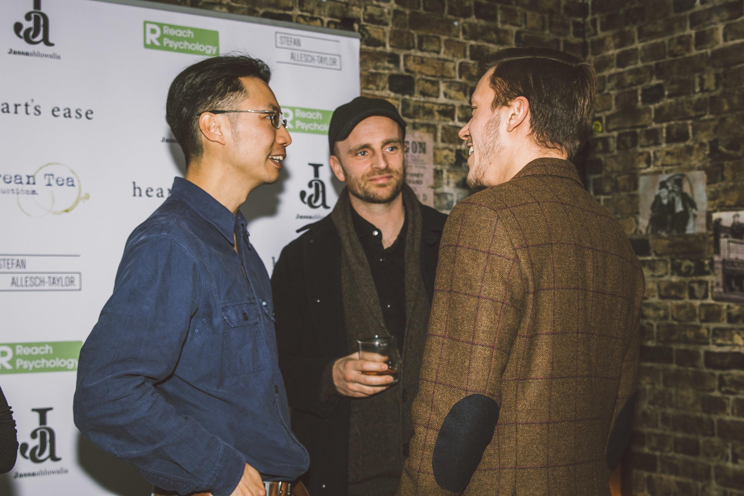 Christopher CF Chow, Matthew J Smith and Jassa Ahluwalia.