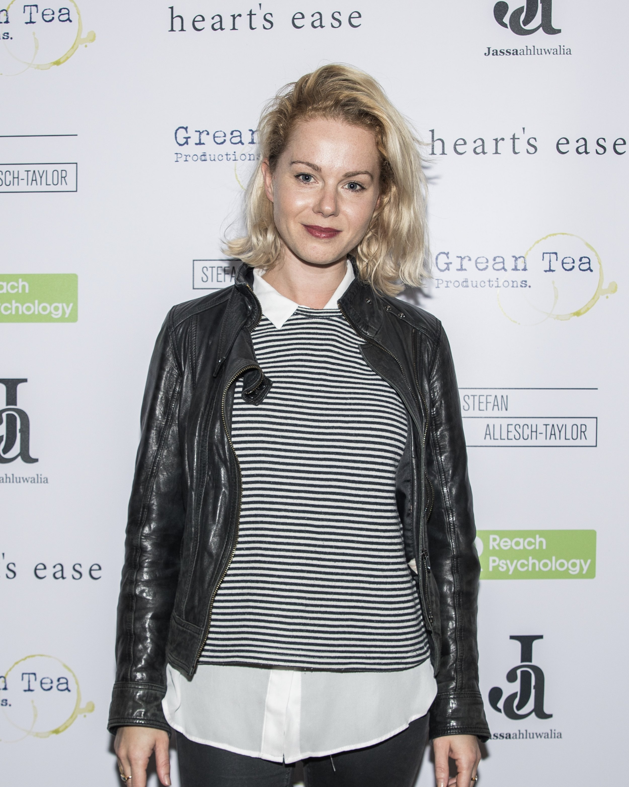 Amy Lennox attends the cast and crew screening of Heart's Ease.