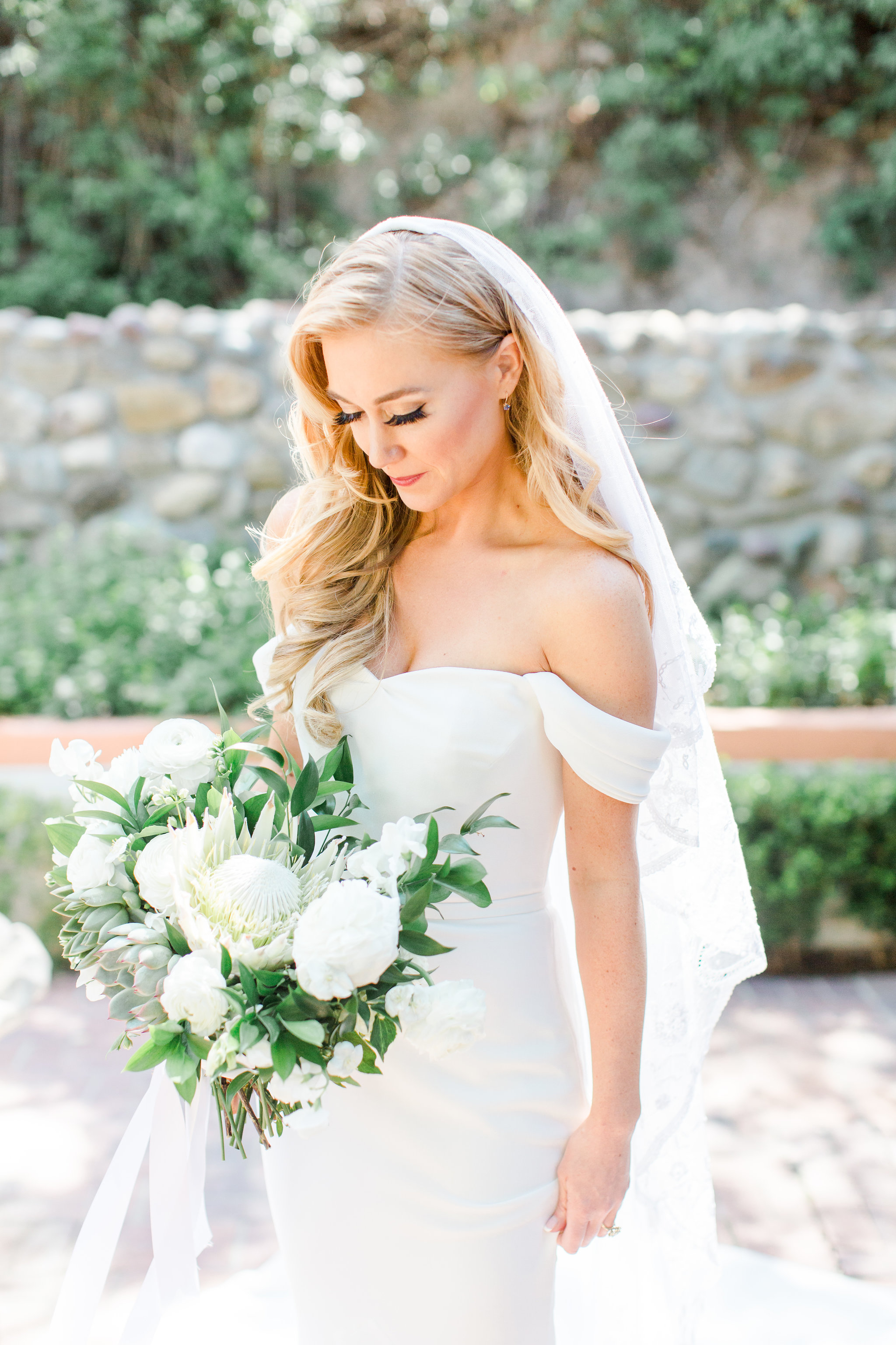 06.23.2018  Featured on Real Wedding's Magazine from California Wedding Day, December 2018  Venue: Rancho Las Lomas  Photographer: Angelica Marie