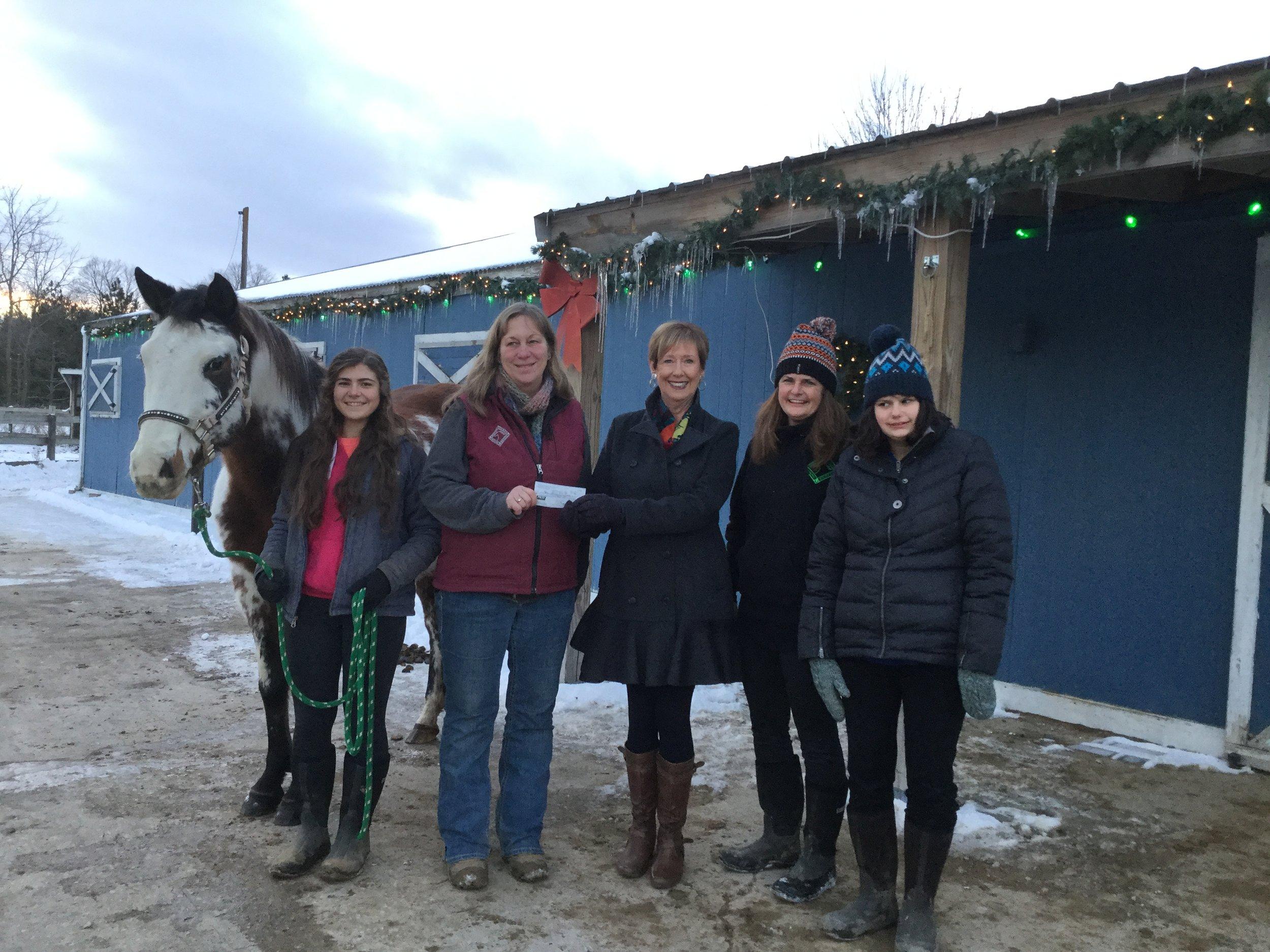 Helping Hands Healing Hooves December 15, 2017