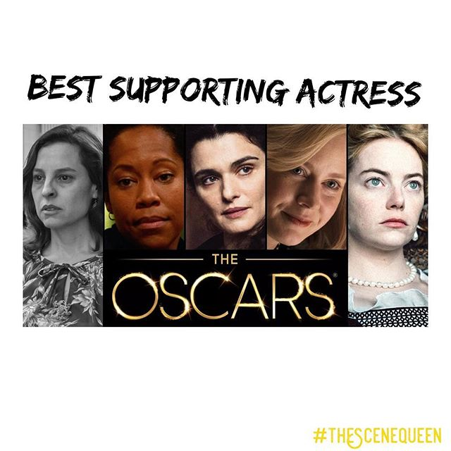 Here are the 2019 Oscar nominees for Best Supporting Actress: 1. Marina de Tavira (Roma) 2. Regina King (If Beale Street Could Talk) 3. Rachel Weisz (The Favourite) 4. Amy Adams (Vice) 5. Emma Stone (The Favourite) WHO DO YOU THINK WILL WIN? 🏆