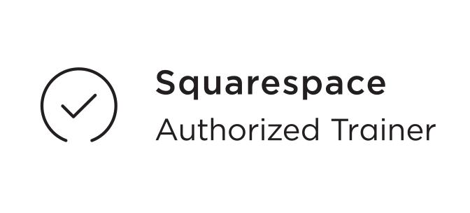Niveau 5 Squarespace Authorized Trainer Design graphique Lévis Québec Web Stratégies