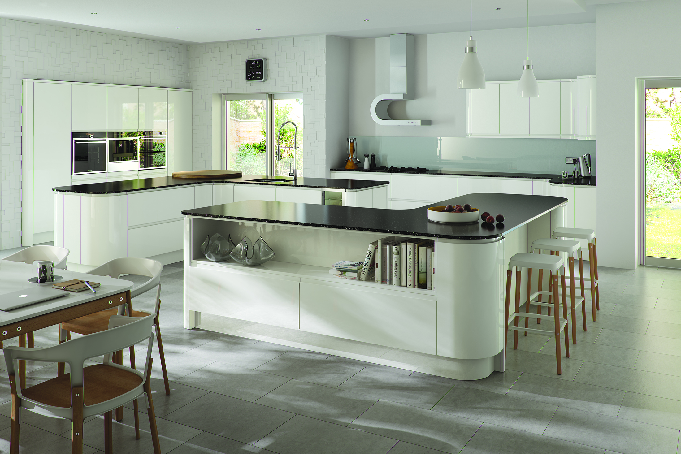 Strada Gloss - White Featuring Curves
