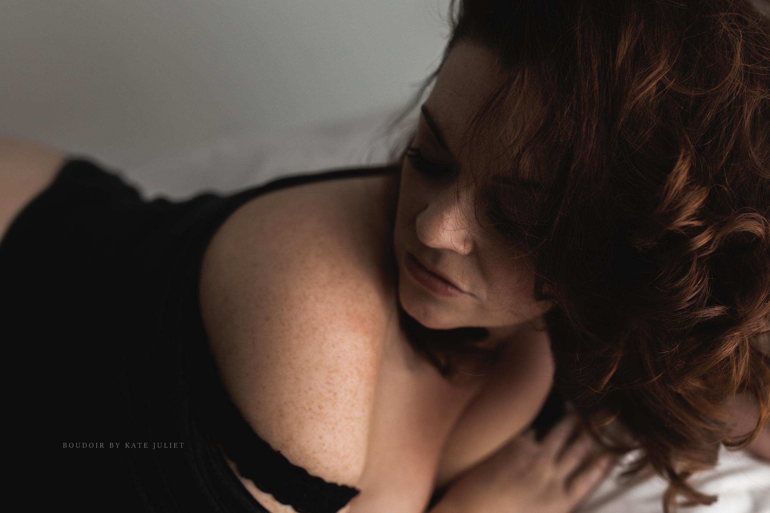 Best Arlington VA Boudoir Photographer | Kate Juliet Photography