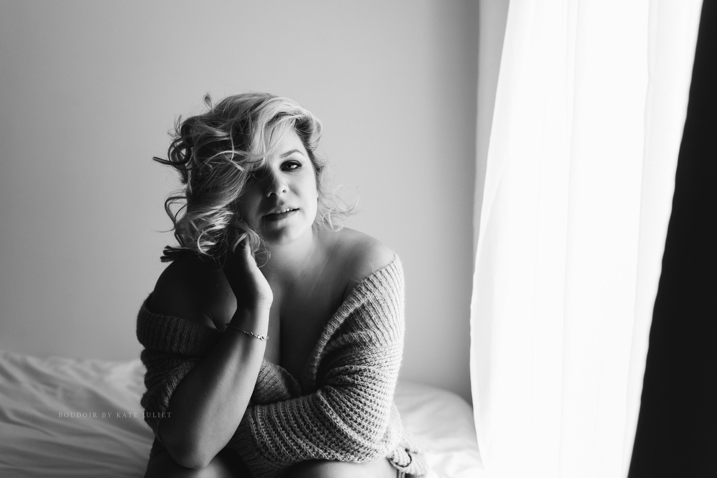 Washington DC and Northern VA Best Boudoir Photographer | Kate Juliet Photography