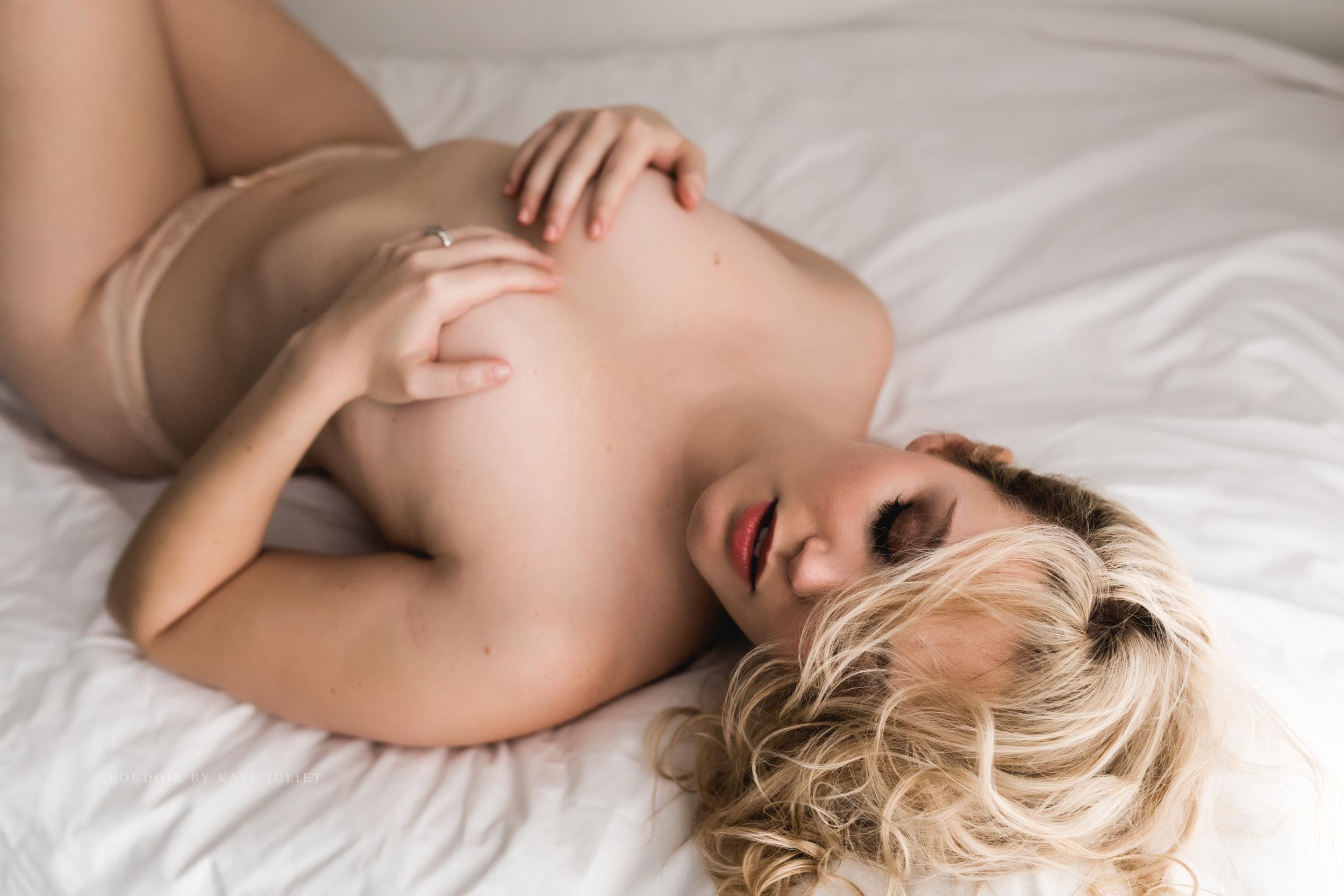 Alexandria VA Boudoir Photographer | Kate Juliet Photography