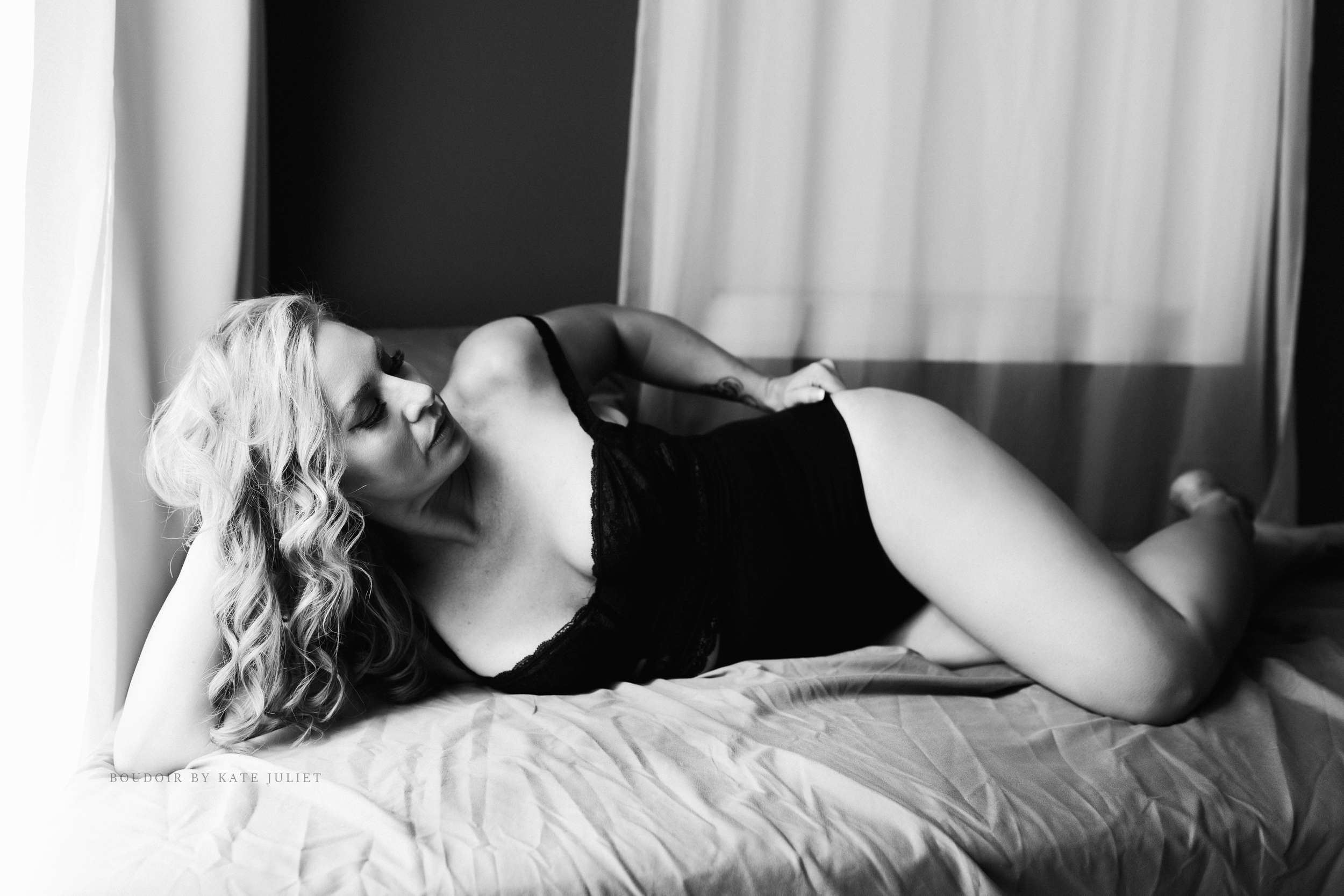 Loudoun County Boudoir Photographer | Kate Juliet Photography