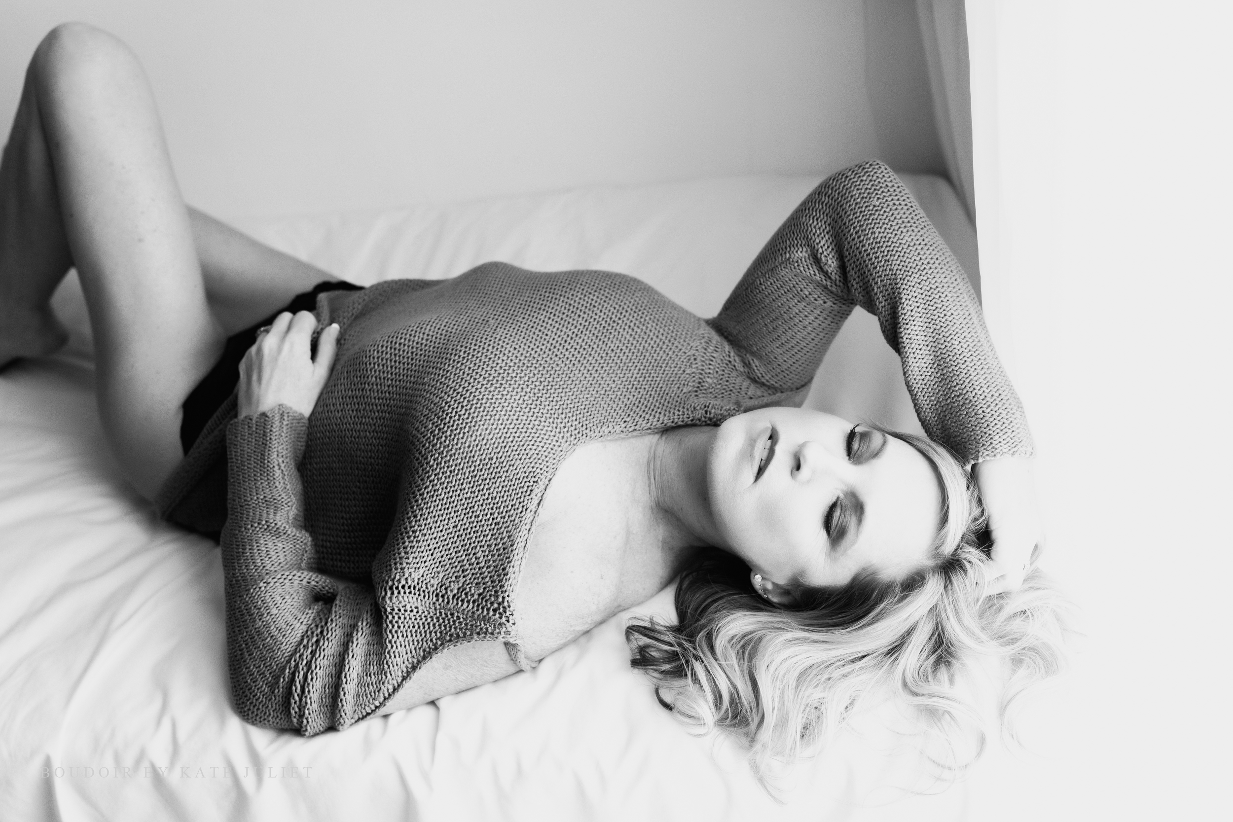 Washington DC Portrait Photographer | Boudoir by Kate Juliet