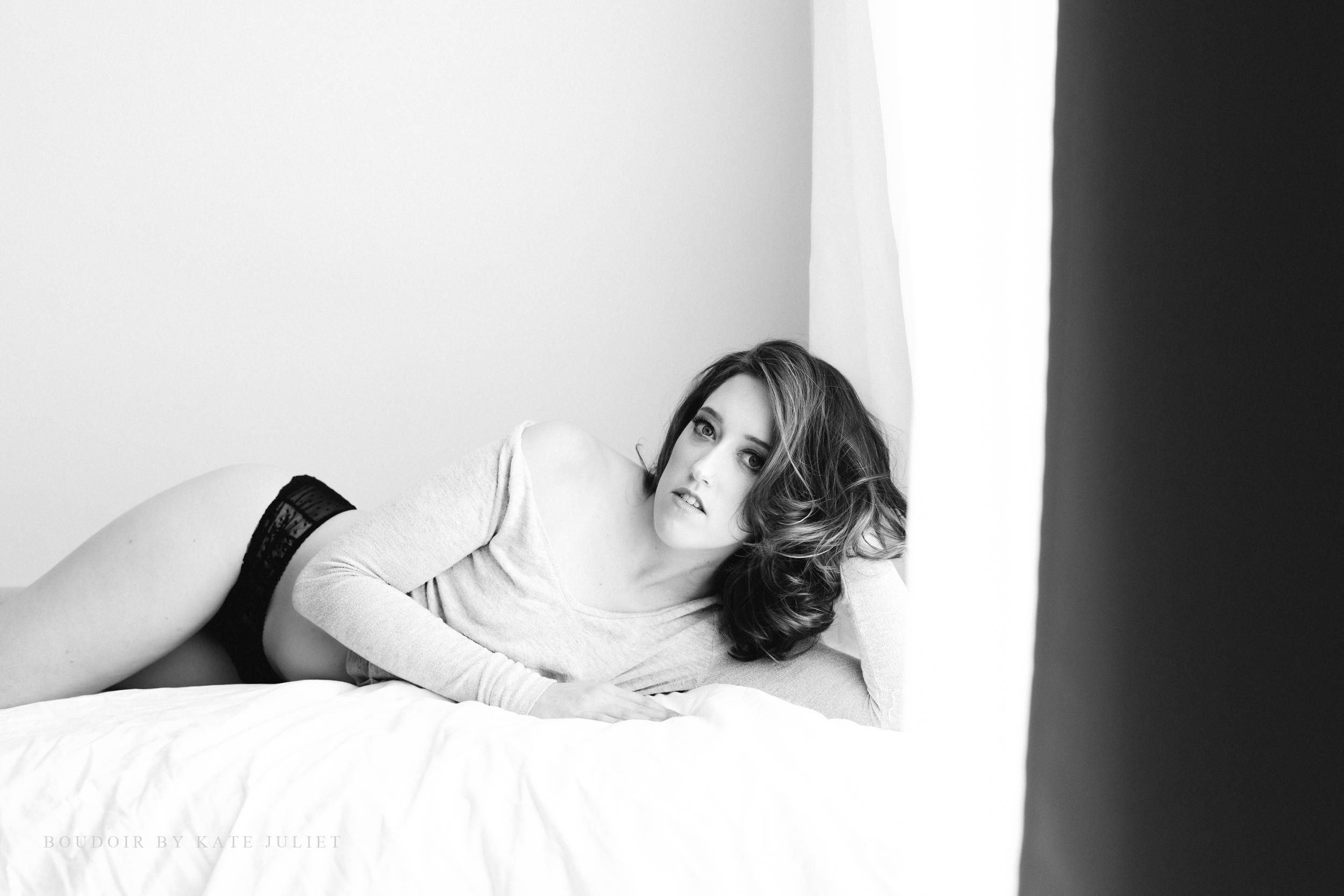Arlington VA Studio Session | Boudoir by Kate Juliet