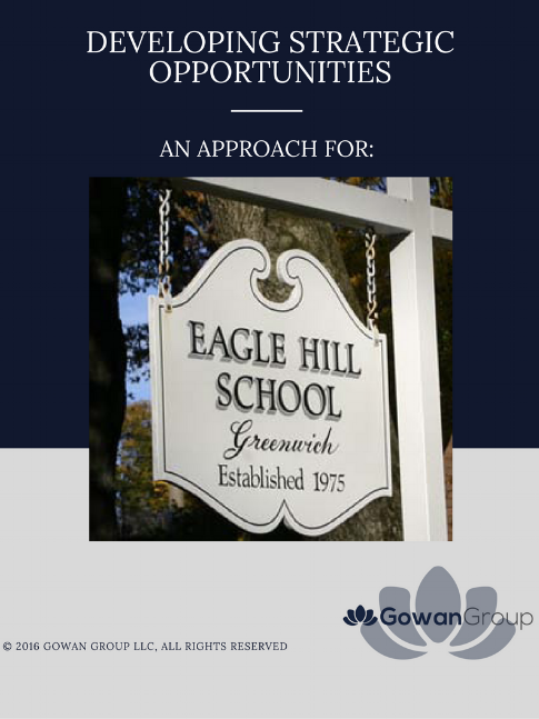 Eagle Hill School , located in   Greenwich, Connecticut  , partners with  Gowan Group   Indpendent School  Consulting Firm.
