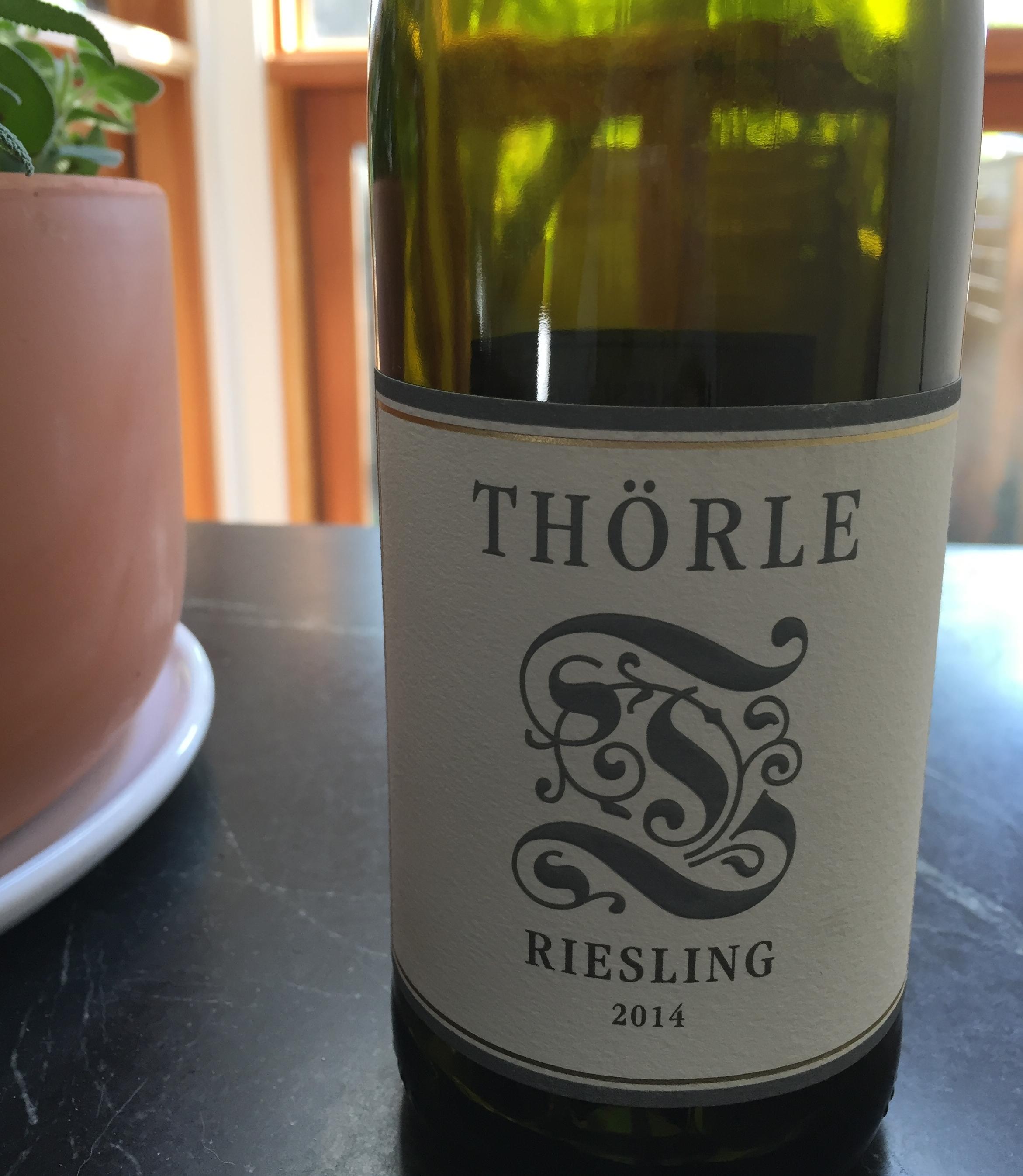 Thorle Riesling Trocken 2014 review