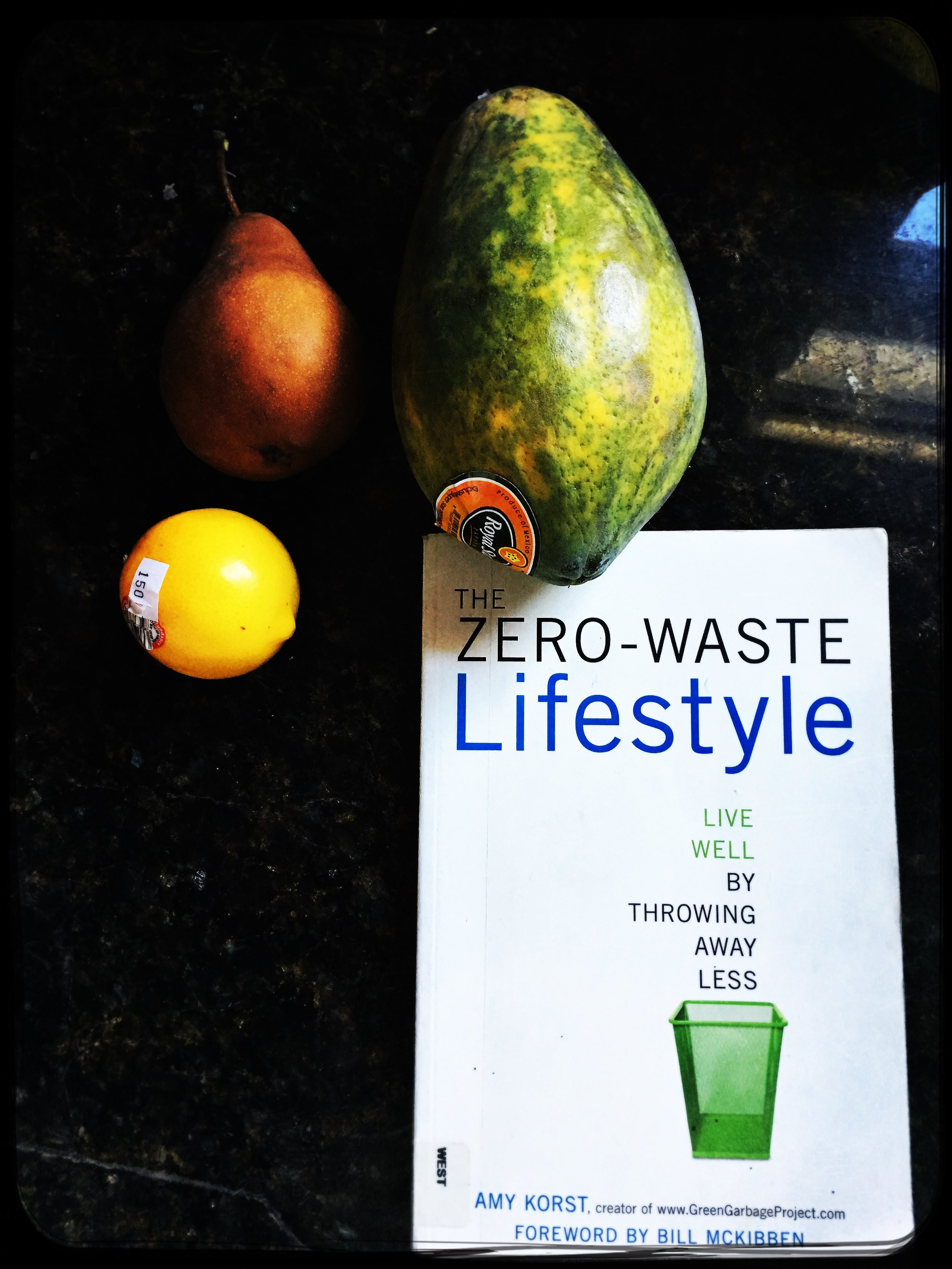 "Library find -- my gateway:: Bea Johnson ""Zero Waste Home"""