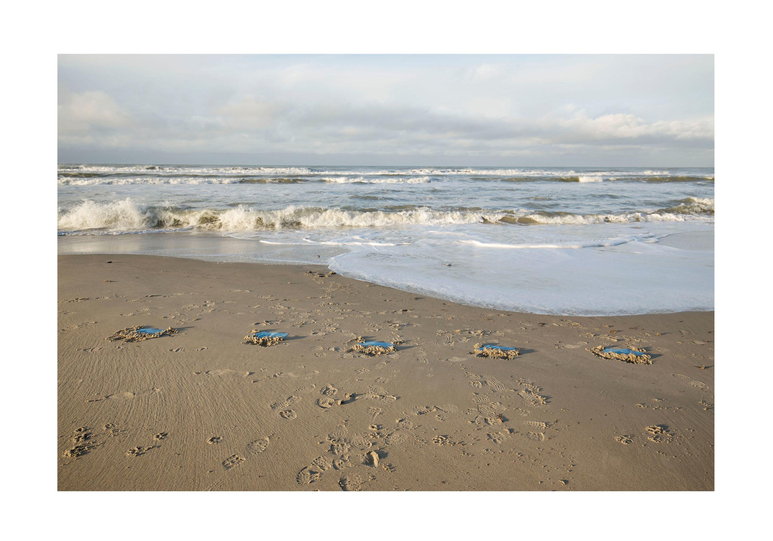 Cyanotypes - Hirtshals Beach