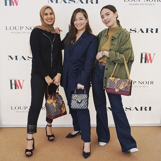 Amazing day yesterday with all my #MasariGirls and the amazing designers Jens & Sascha from @welcomeloupnoir ✨ One more event to go this week!