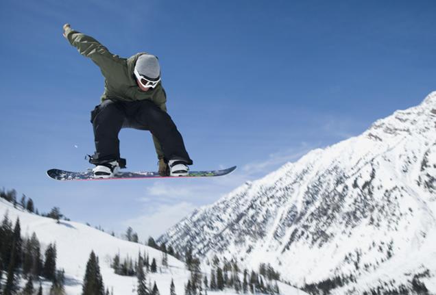 snowboarding foot pain
