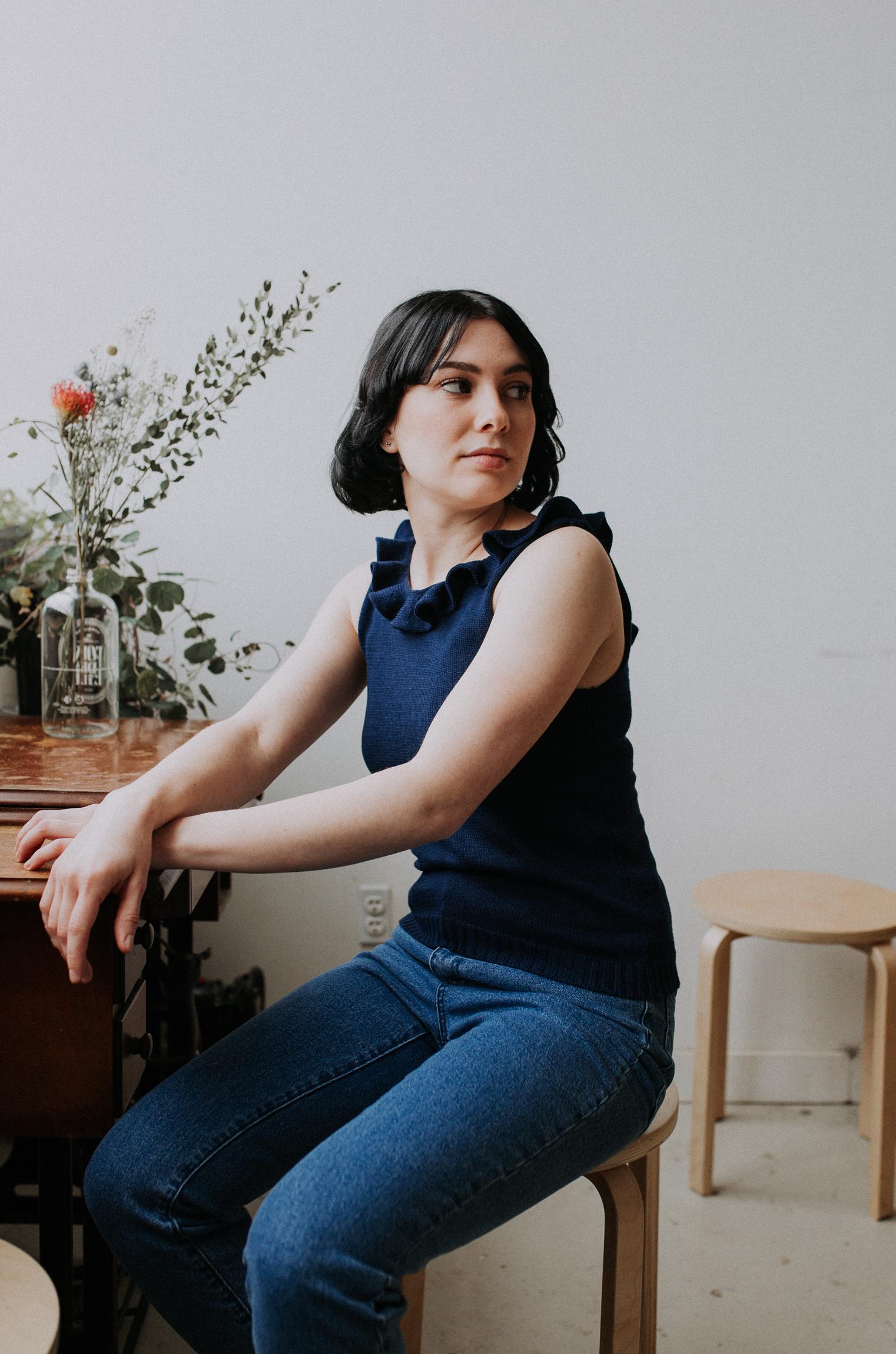 Camisole. Collection Racine par Karianne Poutré.