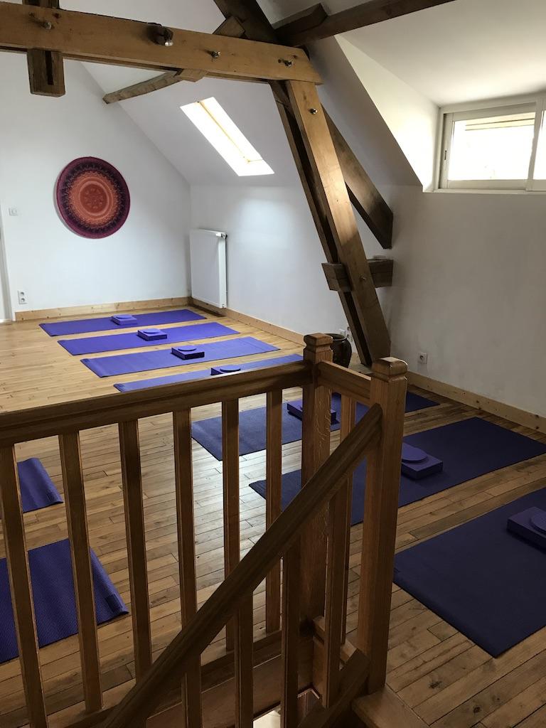 Our 'yoga' loft