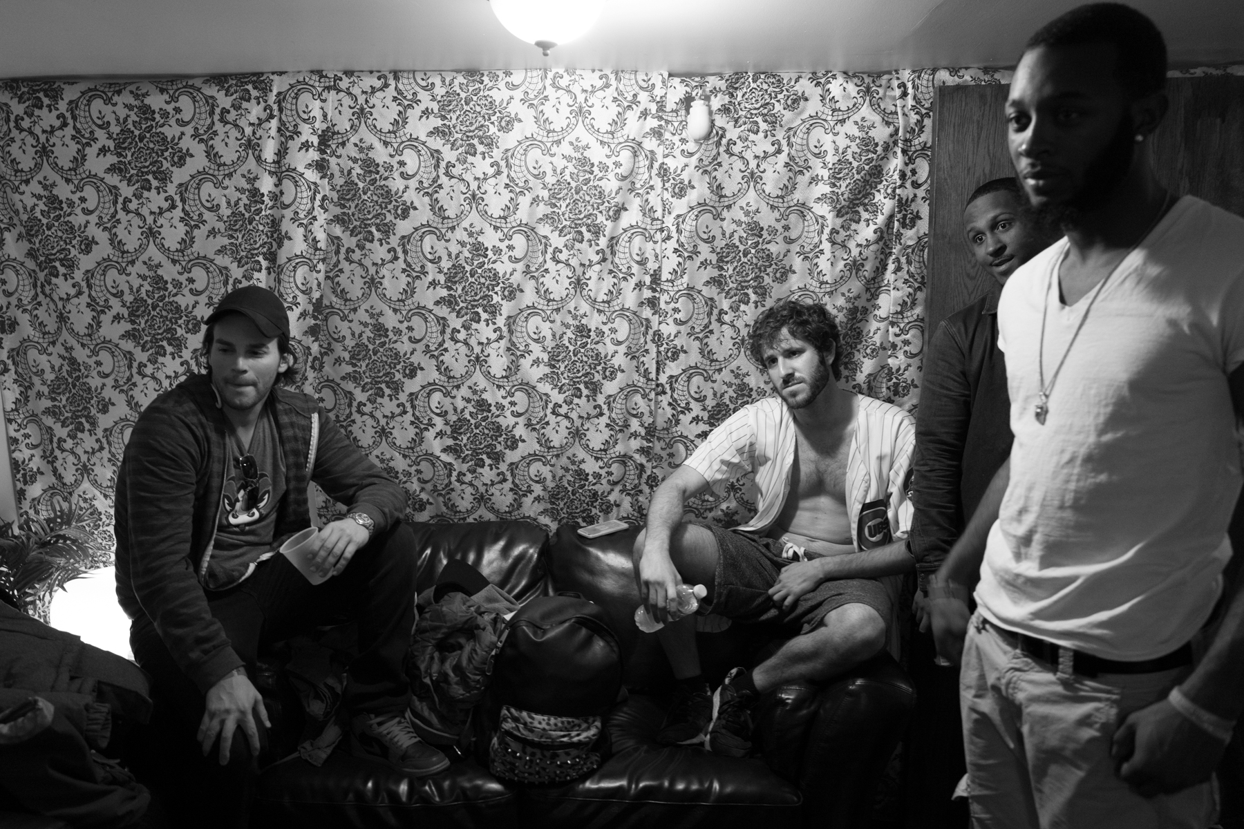 Lil Di  cky Backstage.  Leica Q.                                   Copyright of   Nicholas Pinto 2016