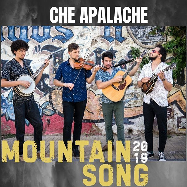 ARTIST FEATURE: @che.apalache  Don't miss your chance to see this incredible string band, fresh off a new album release that is really, really good! They play Saturday at 3:30.  Che Apalache is a four-man string band based in Buenos Aires with members from Argentina, Mexico and the United States. The group's founder is Joe Troop (fiddle), a North Carolinian multi-instrumentalist, singer-songwriter and composer who moved to Argentina in 2010. While patiently carving out a niche in the local music scene, Joe taught bluegrass and old-time for a living. That's how he met Pau Barjau (banjo), Franco Martino (guitar) and Martin Bobrik (mandolin), his most dedicated students. They quickly became picking buddies and in 2013 decided to hit the stage.  Che Apalache began as a bluegrass band, but eventually incorporated Latin American styles into their repetoire. Combining instrumental prowess with tight vocal harmonies, they have curated an authentic blend of genres to reflect the nature of their lives, evoking images from Appalachia to the Andes. Their most recent album, Rearrange My Heart, is produced by banjo legend Béla Fleck.