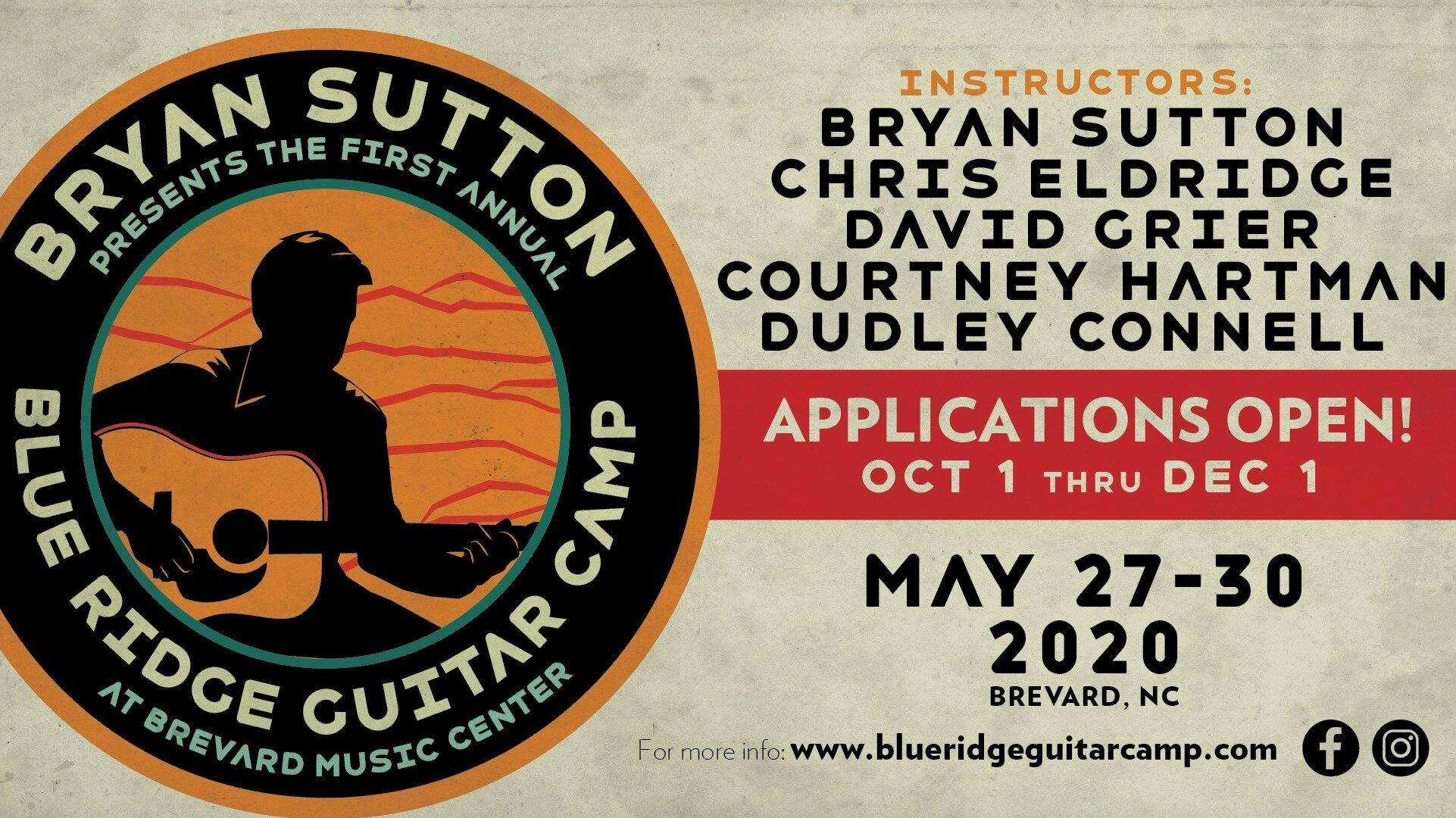 Blue Ridge Guitar Camp