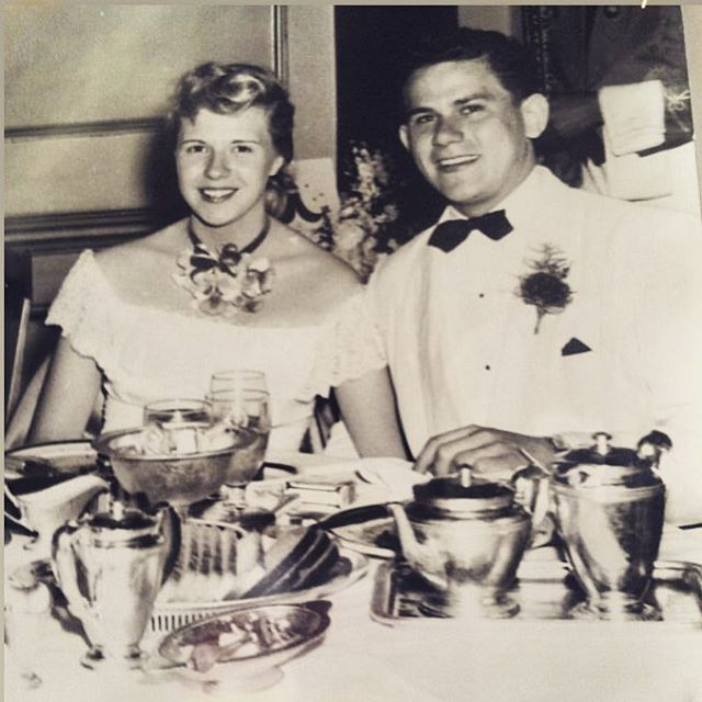 My grandparents at a high school dance ❤️ Was there ever a more beautiful couple? #gloanddick
