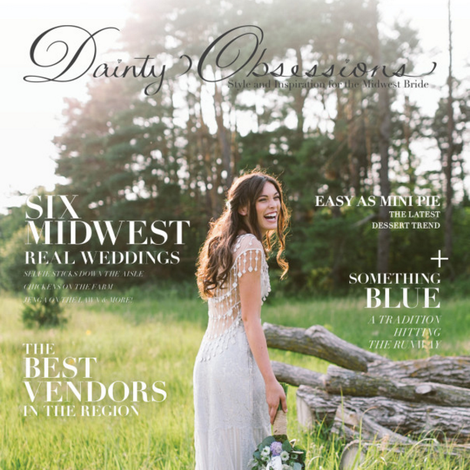 As Seen In Dainty Obsessions Magazine