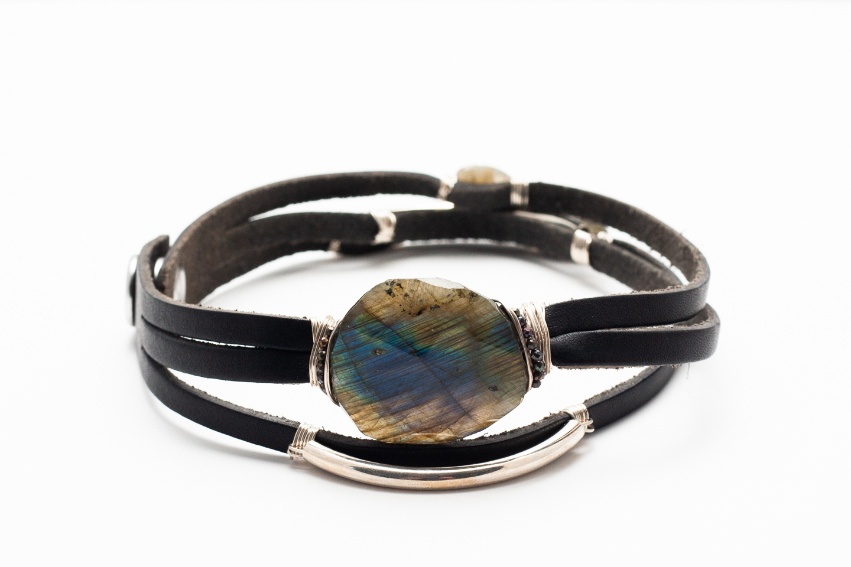 Wrapped Leather Bracelet
