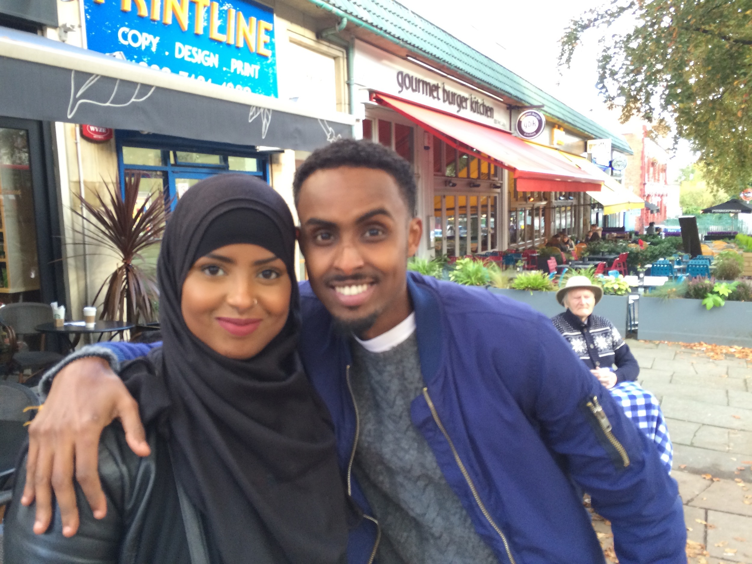 Ayan and Abdullahi - London 2015