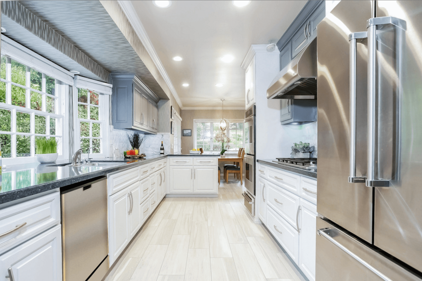 Bright Beach Kitchen