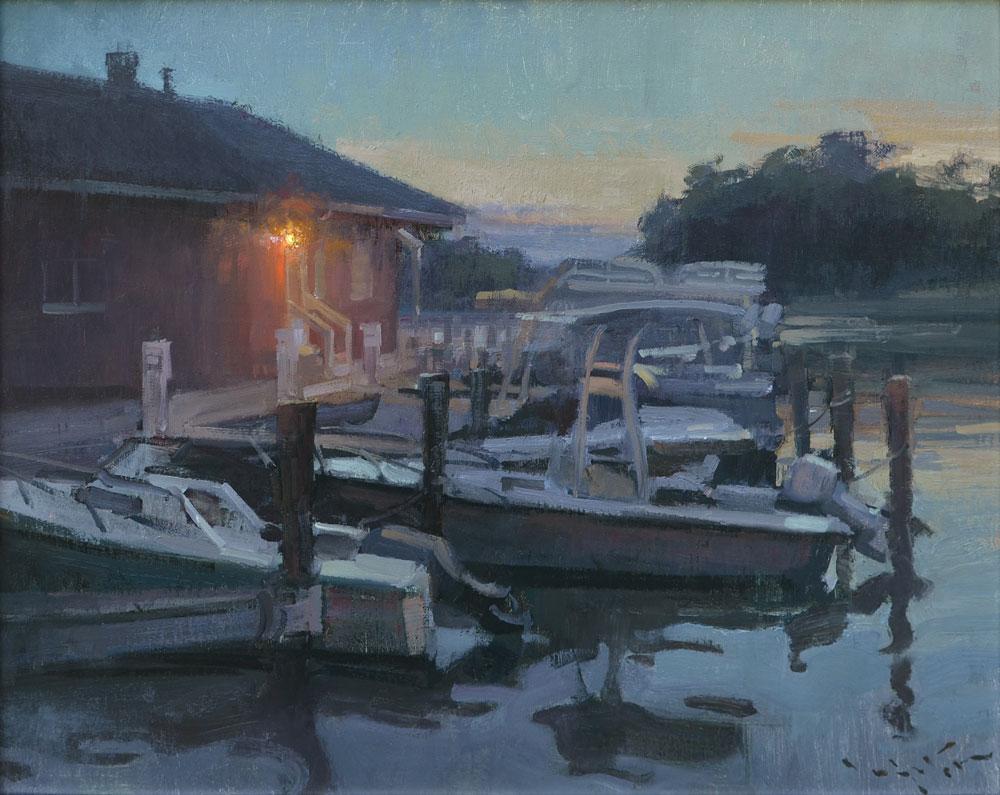 John Lasater, Evening Marina