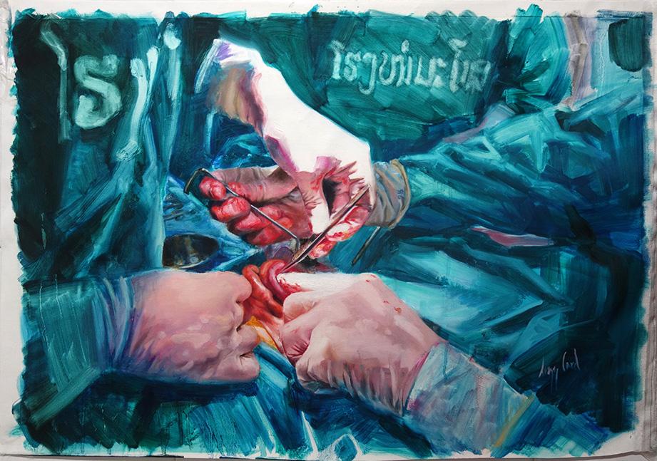 Lizz Card, Budding Artist Winner, Mahosot Surgery L
