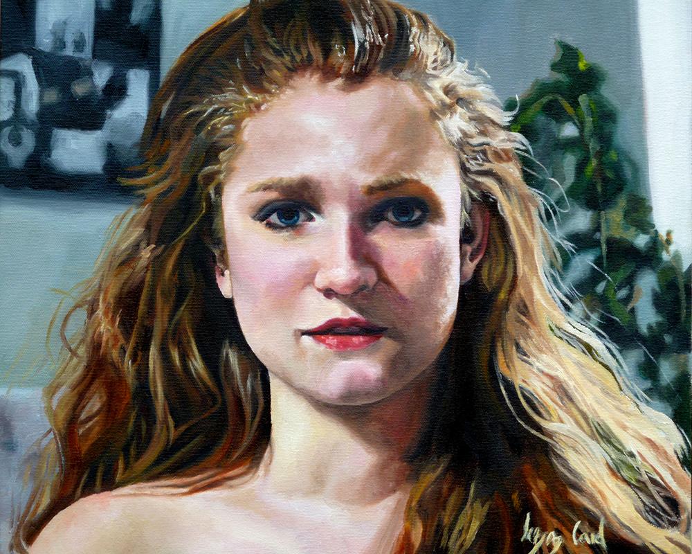 Lizz Card, Self Portrait