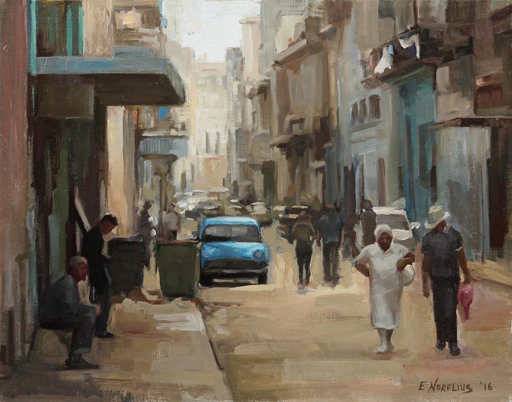 Erica Norelius, Gallery Representation Fnailist, Streets of Havana