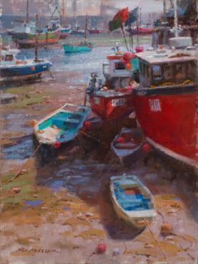 Ned Mueller, Low Tide Mevagissey, England