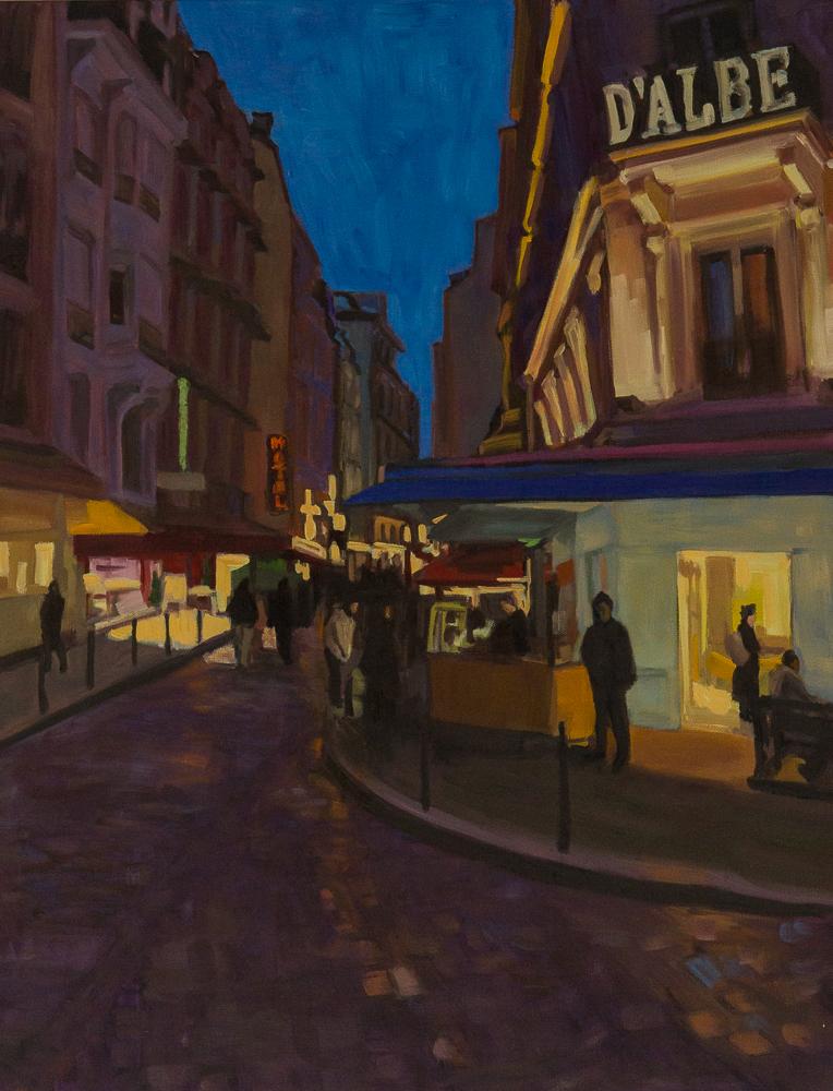 Elizabeth Rouland, First Night in Paris