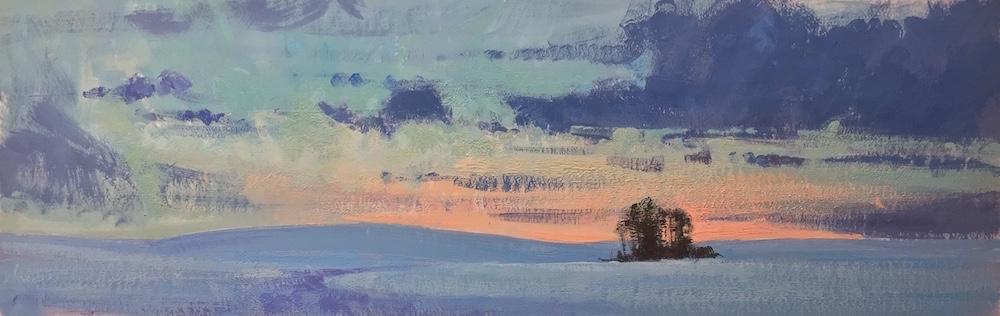 Aaron Johnson, Winter Solitude