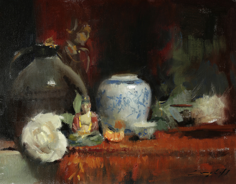 Peter Campbell, Still Life with Buddah