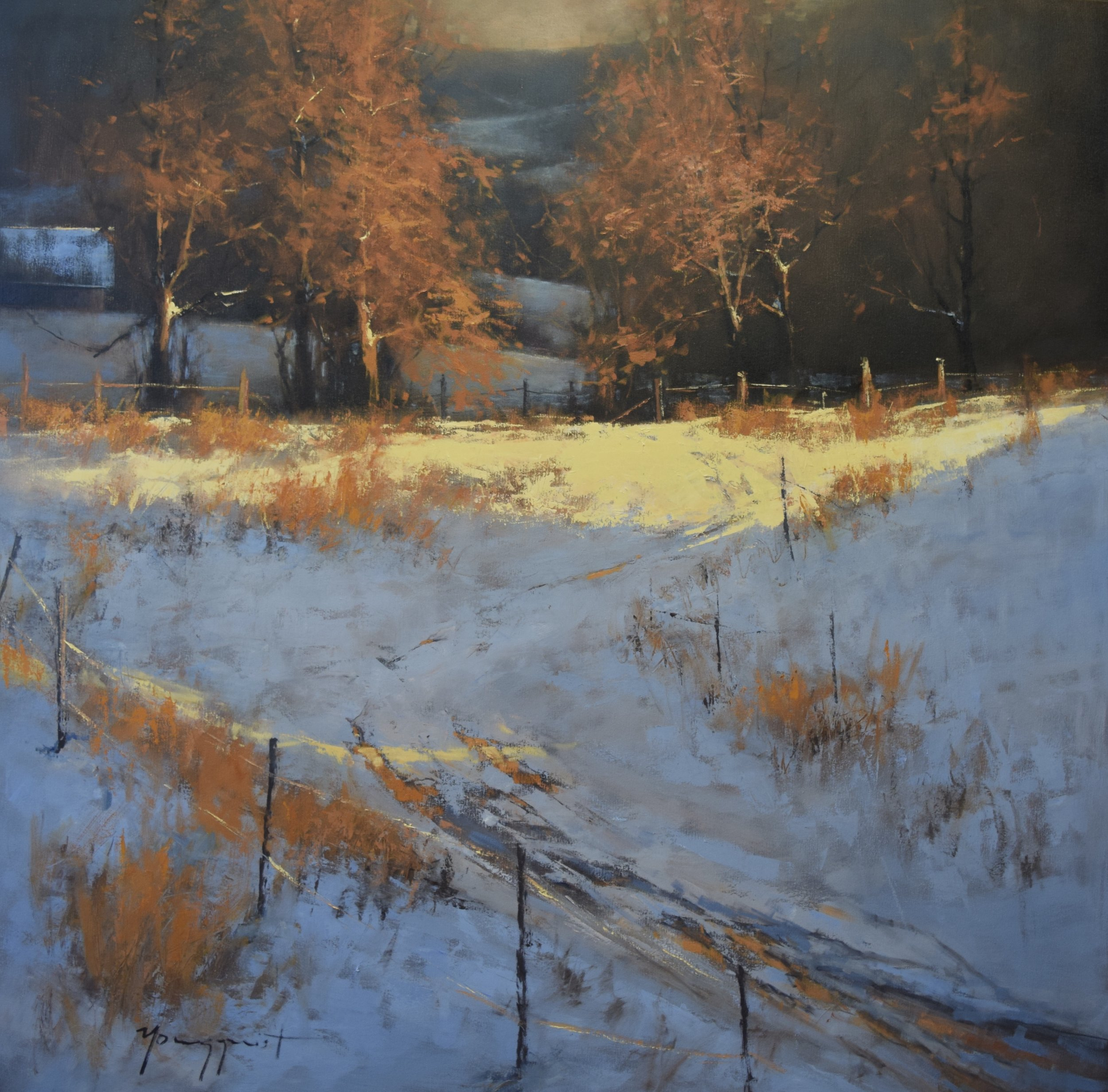 Romona Youngquist, Tranquil Snowfall